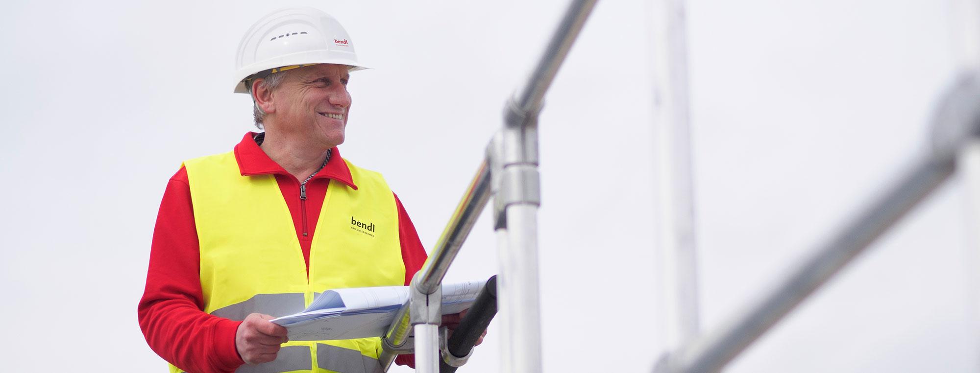 Karriere Berufserfahrener Bauunternehmen bendl