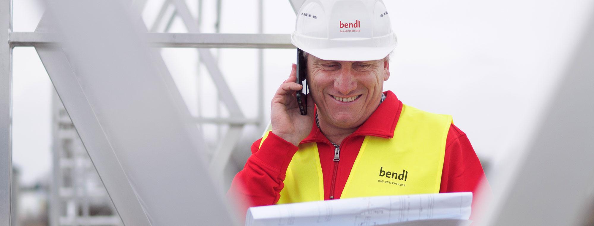 Kontakt bendl Bauunternehmen Günzburg