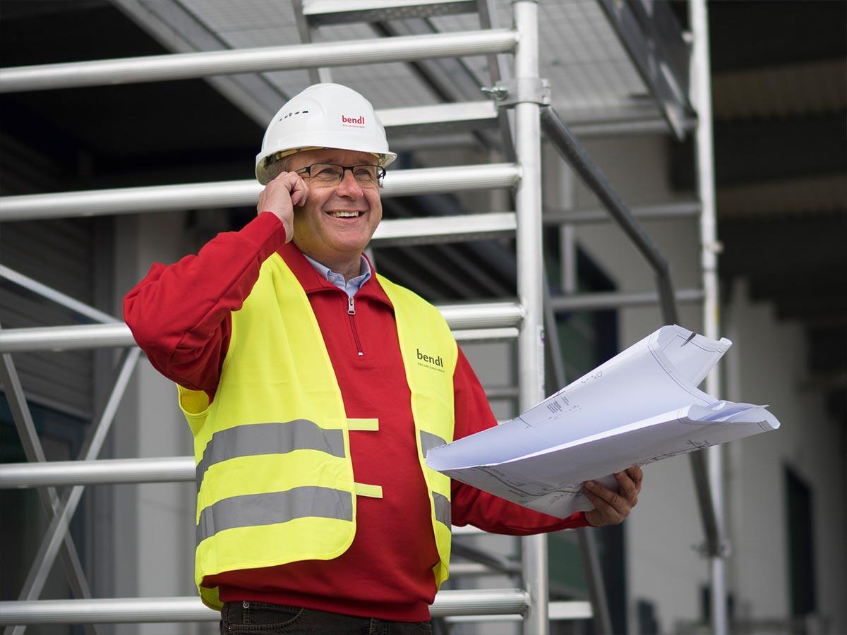 Baubetreuung durch die Firma bendl aus Günzburg