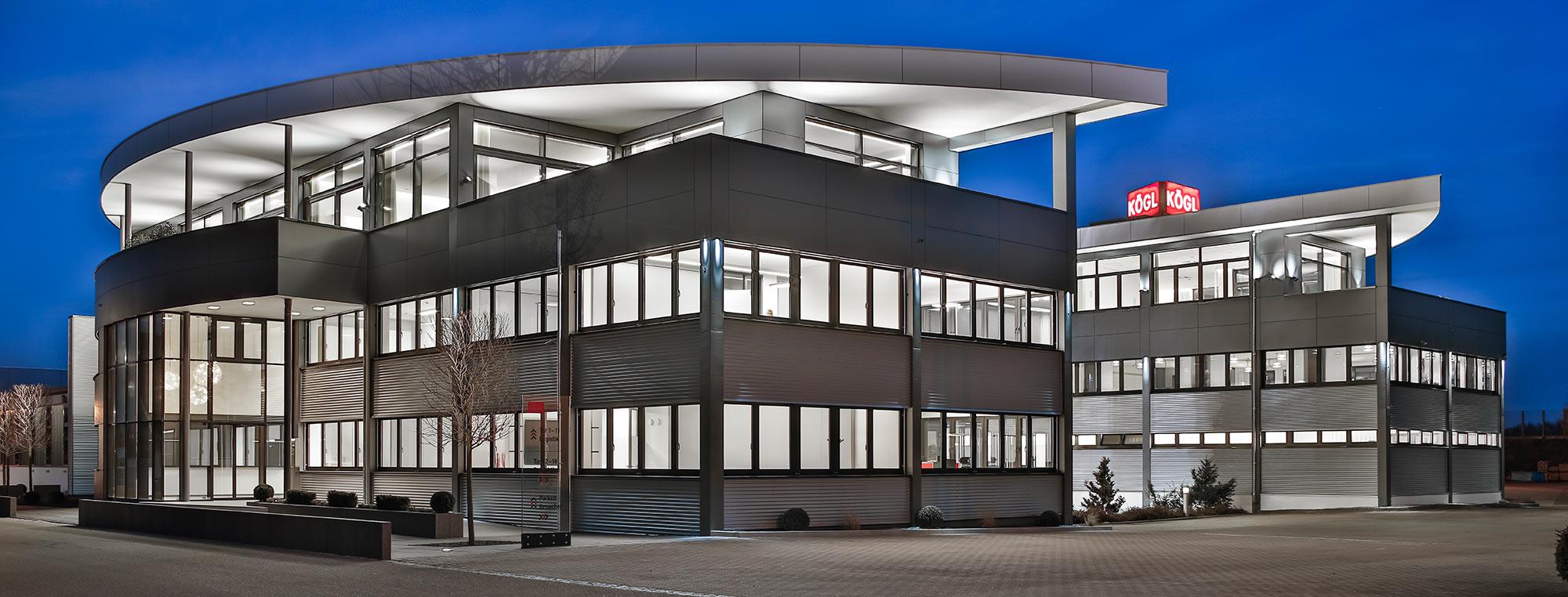 Verwaltungsgebäude der Firma Kögl Bubesheim