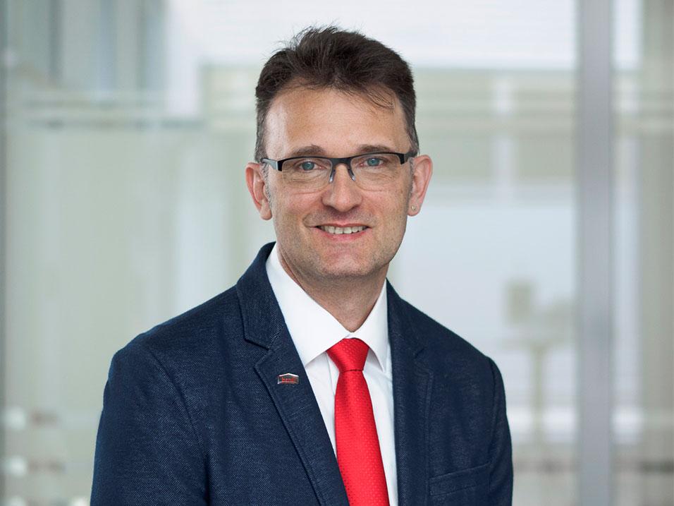 Joachim Krämer vom Bauunternehmen bendl aus Günzburg