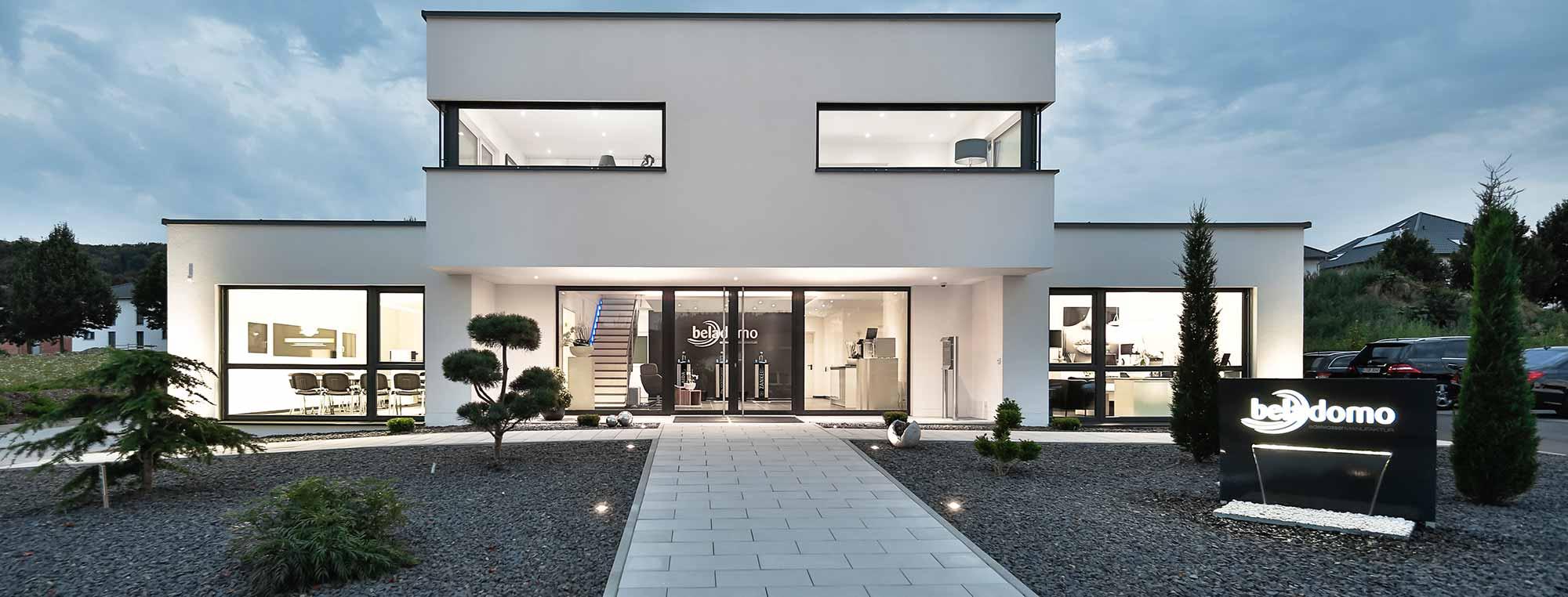 Firmenzentrale der beladomo GmbH