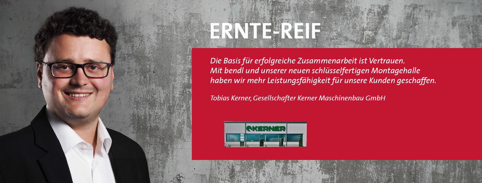 Tobias Kerner - Kerner Maschinenbau GmbH