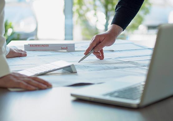 Bauunternehmen bendl Planungsleistung Projektentwicklung Bauausführung