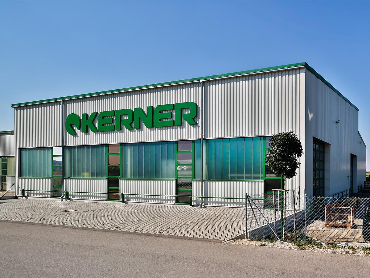 Die neuerstellte Halle der Kerner Maschinenbau GmbH