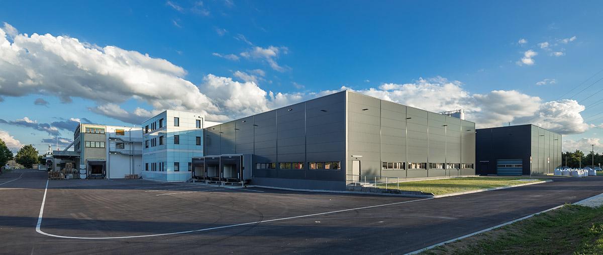Die Betriebserweiterung auf dem Gelände der Firma Verotec in Lauingen