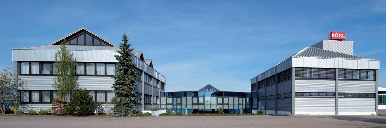 Verwaltungsgebäude Firma Kögl vor dem Umbau