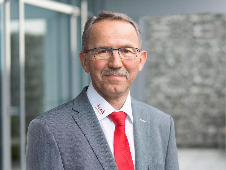 Anton Schäffler vom Bauunternehmen bendl aus Günzburg