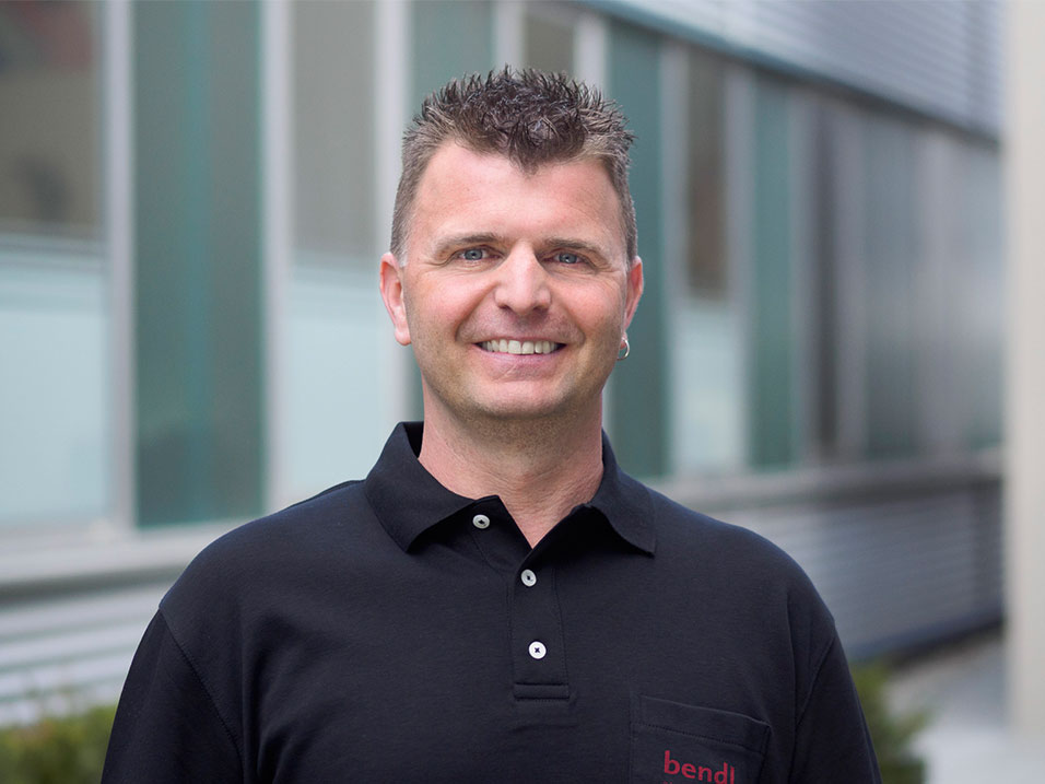 Bernd Lindenmayer vom Bauunternehmen bendl aus Günzburg