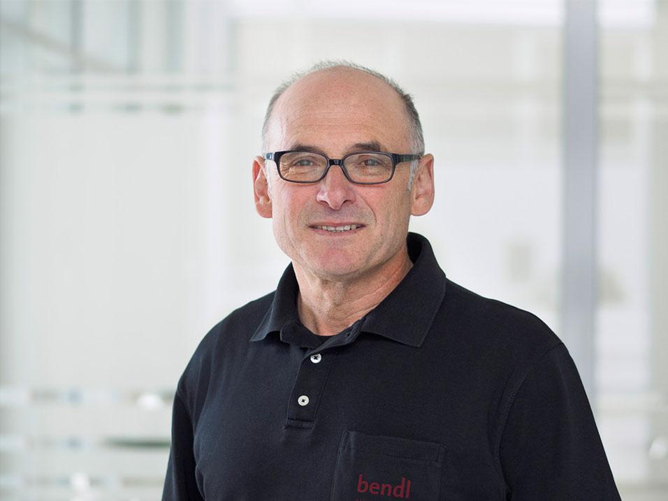 Bernhard Sailer vom Bauunternehmen bendl aus Günzburg