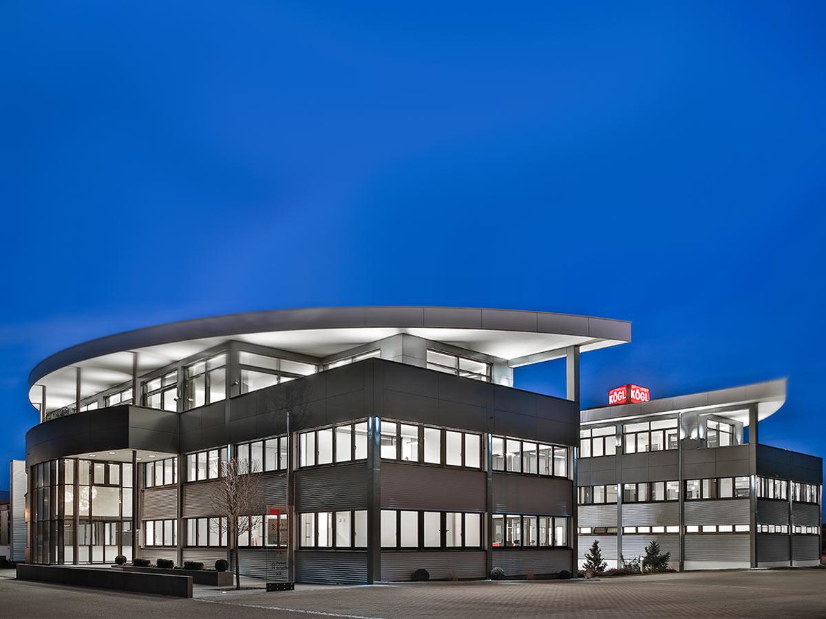 Die Firma Kögl GmbH in Bubesheim