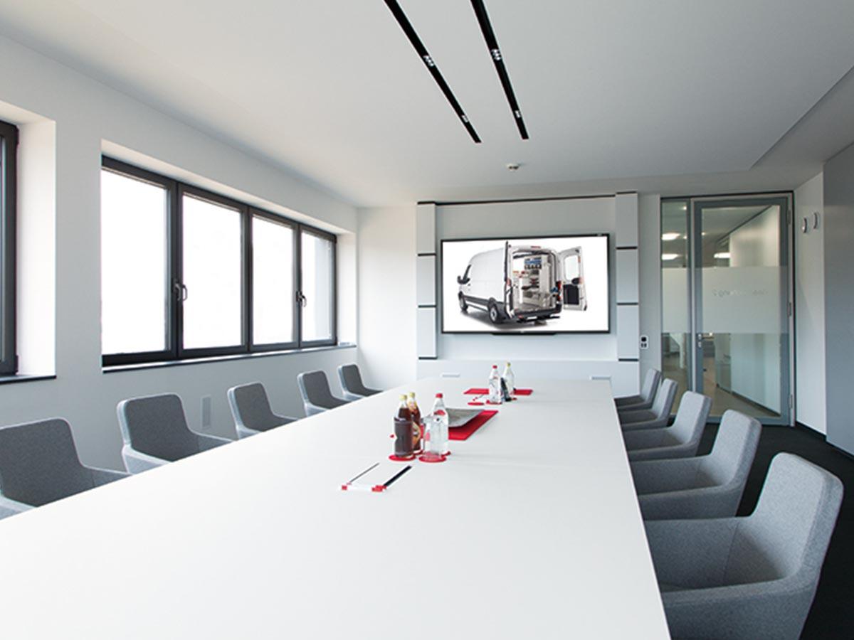 Das Besprechungszimmer bei der Firma Kögl GmbH