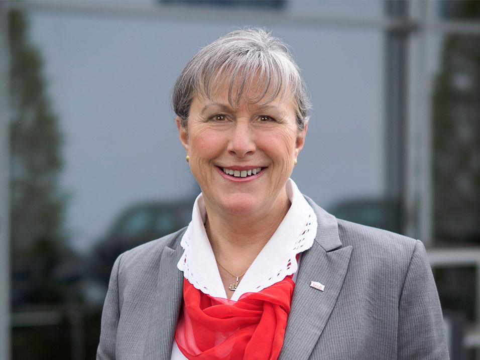 Margot Bendl vom Bauunternehmen bendl aus Günzburg