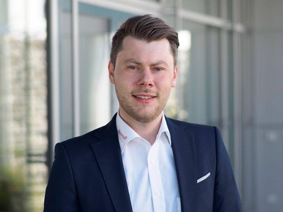 Nick Fertig vom Bauunternehmen bendl aus Günzburg