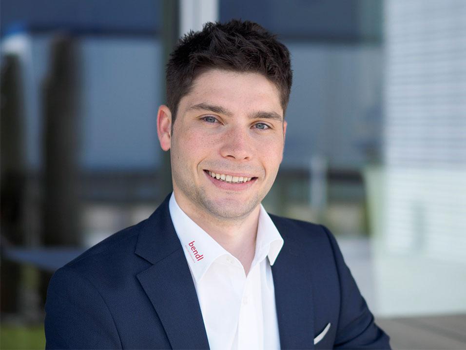 Peter Finkel vom Bauunternehmen bendl aus Günzburg
