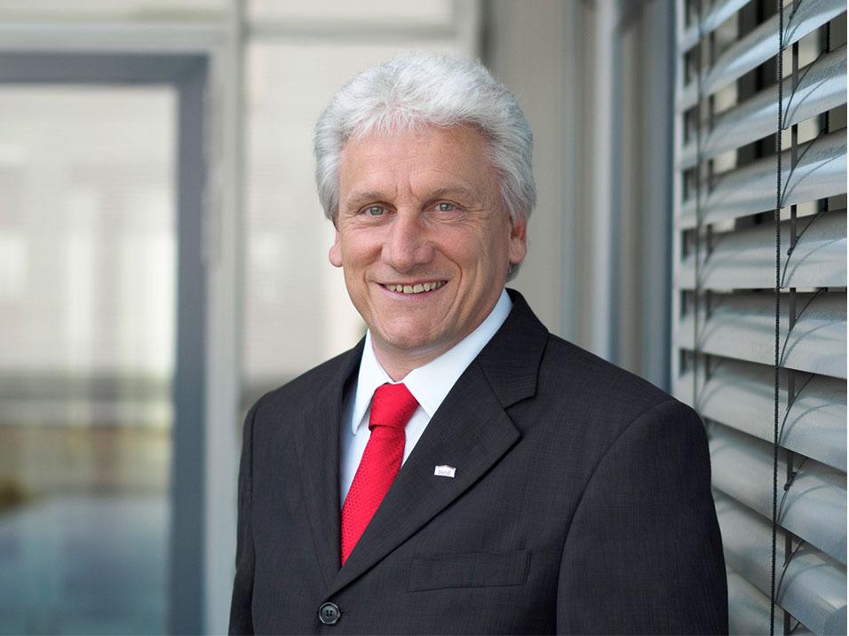 Raimund Strobl vom Bauunternehmen bendl aus Günzburg