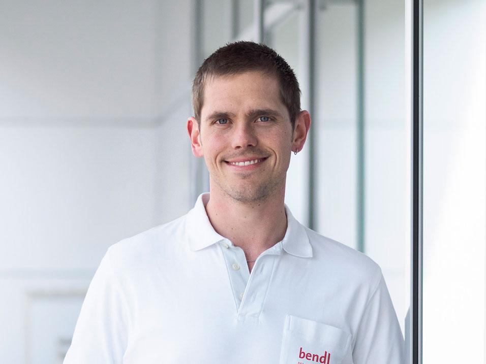 Simon Forster vom Bauunternehmen bendl aus Günzburg