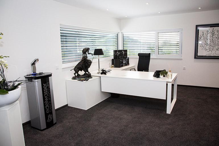 Büroräume der neuen Firmenzentrale der beladomo GmbH