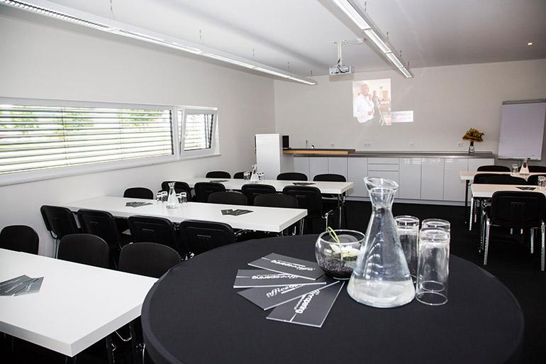 Besprechungsraum in der neuen Firmenzentrale der beladomo GmbH