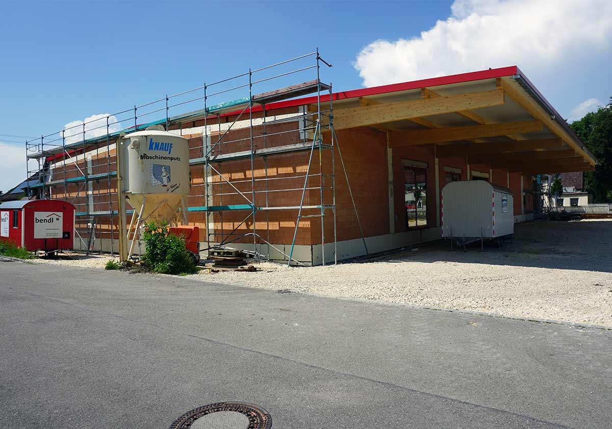 Neubau Getränkemarkt Finkbeiner in Günzburg