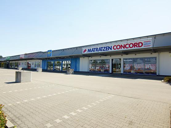 Outlet Jettingen Einkaufszentrum bendl bauunternehmen