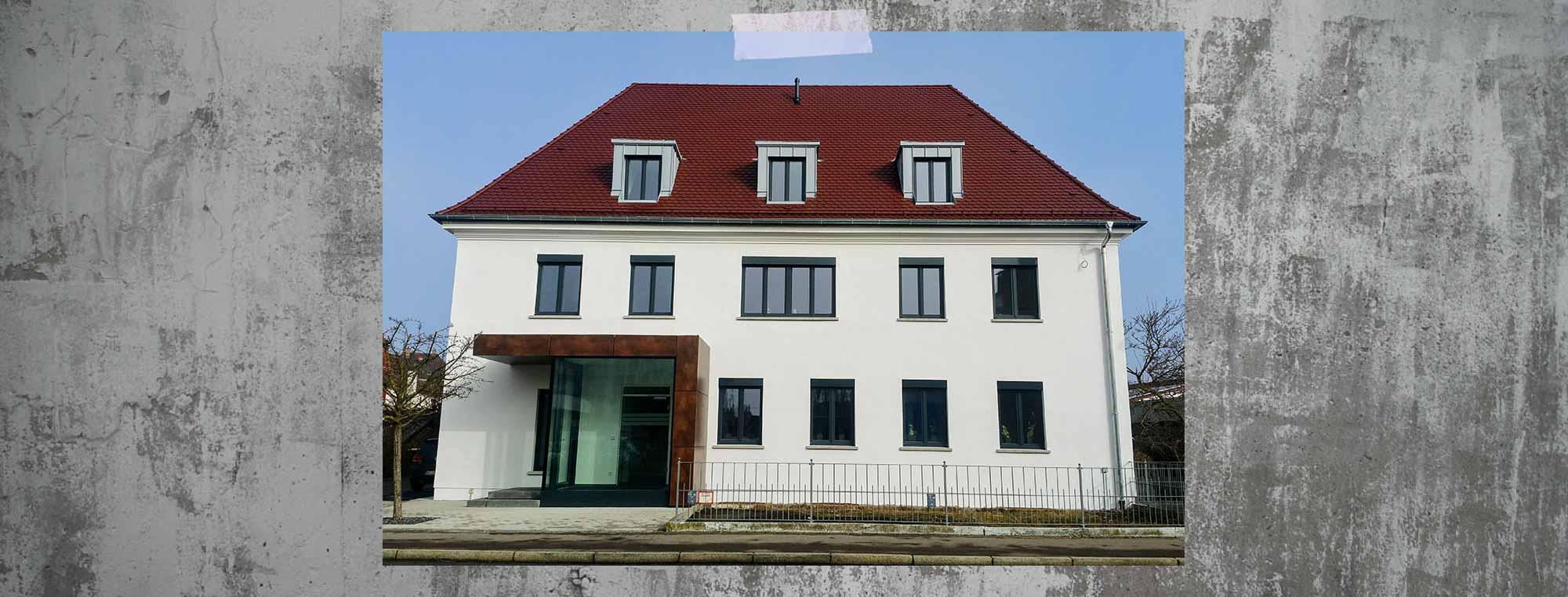 Sanierung und Erweiterung Bürogebäude Ingenieurbüro Degen Günzburg bendl Bauschnelldienst