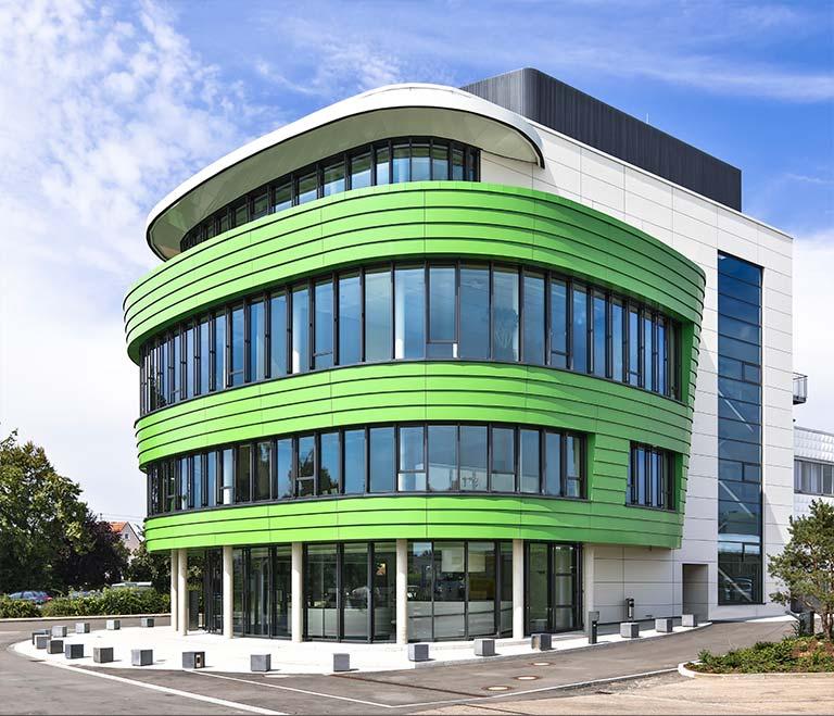 Das Schulungszentrum der Grünbeck Wasseraufbereitungs GmbH