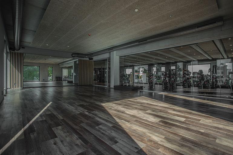 Geschäftshaus XLNC Fitnessraum