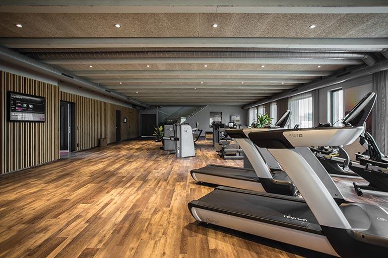 Geschäftshaus XLNC Trainingsraum