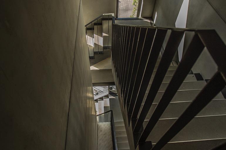 Geschäftshaus XLNC Treppenhaus