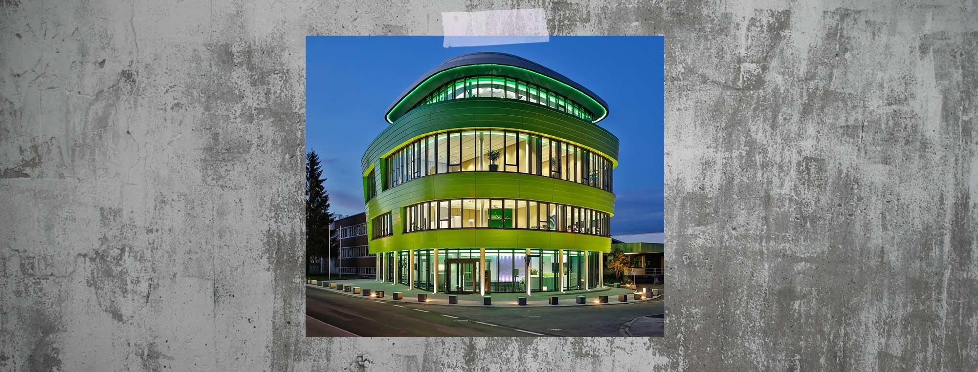 Das Schulungszentrum der Grünbeck Wasseraufbereitungs GmbH in Höchstädt