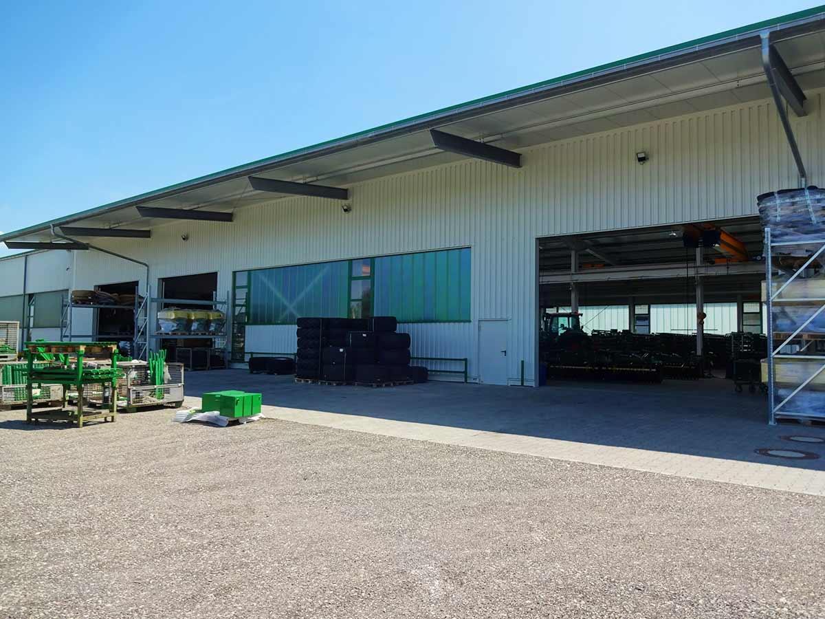 Die Montagehalle der Kerner Maschinenbau GmbH