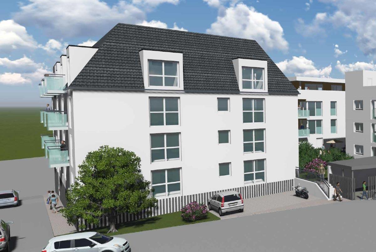 Eigentumswohnungen und Penthouse-Wohnungen im-GuntiaPark in Günzburg