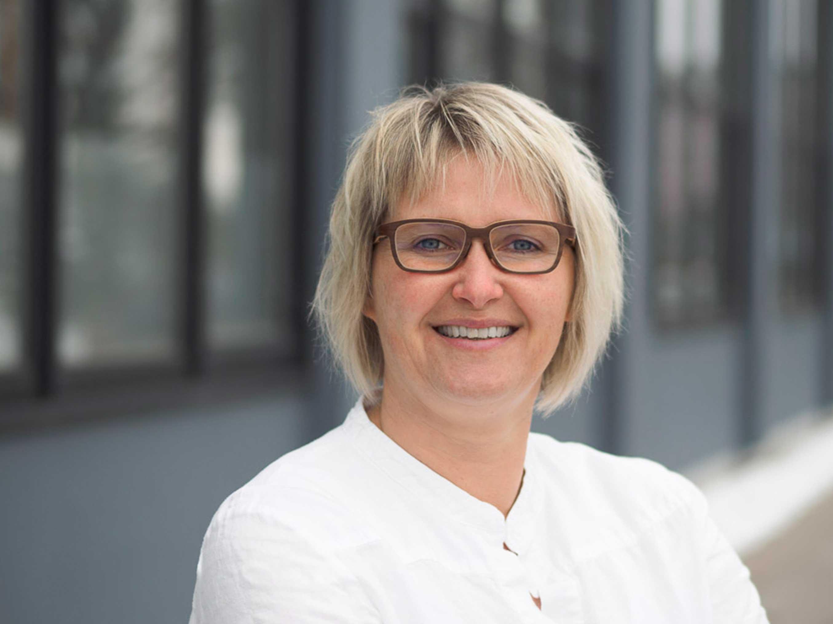 Ulrike Kindemann vom Bauunternehmen bendl aus Günzburg