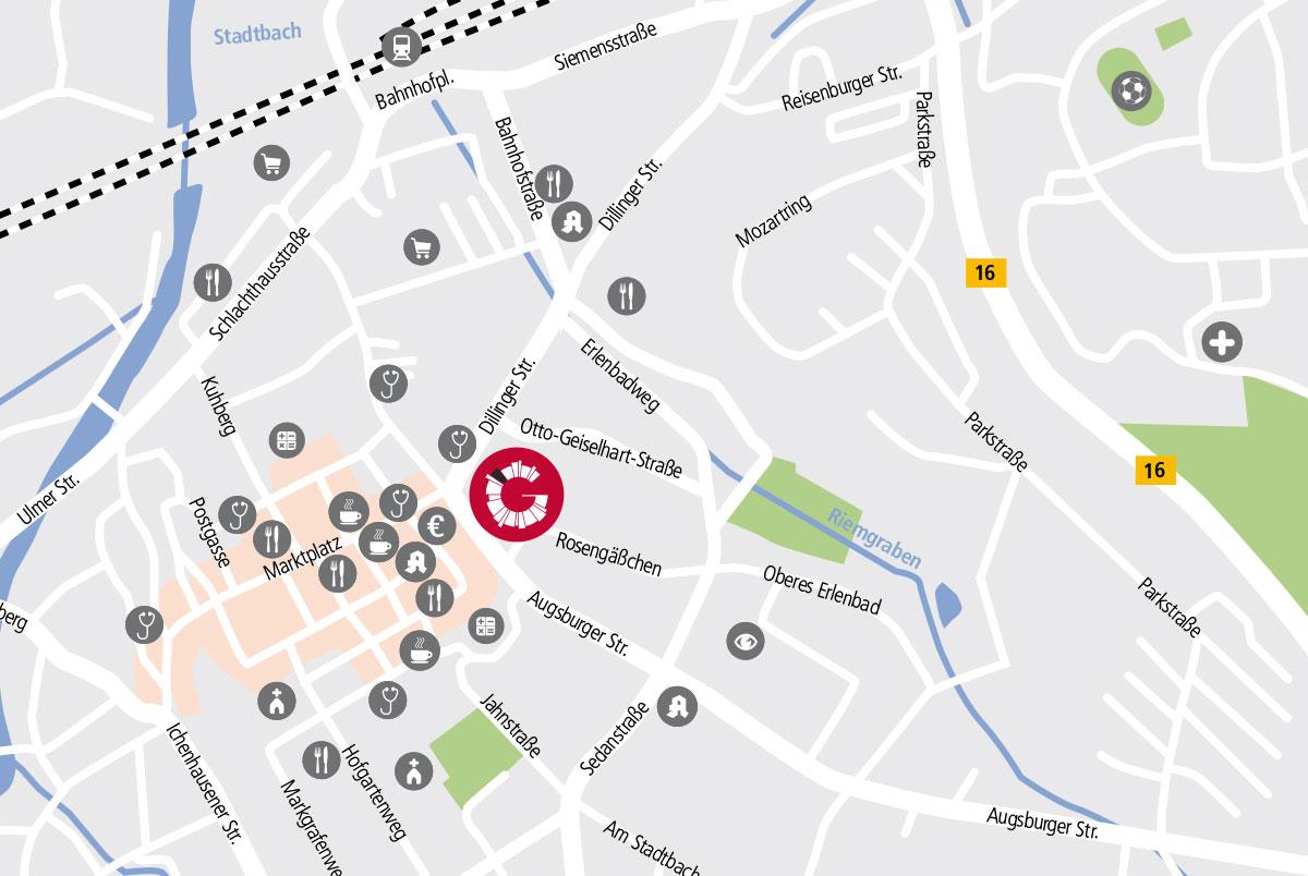 Zentrales Wohnen am GuntiaPark Dillinger Straße und Otto Geiselhart Straße Günzburg