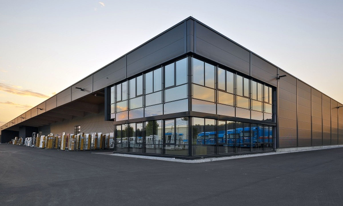 Fertigungshalle Firma Gugelfuss Elchingen Bauunternehmen bendl
