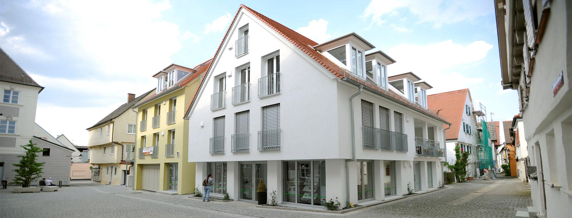 Projektentwicklung durch das Bauunternehmen bendl aus Günzburg