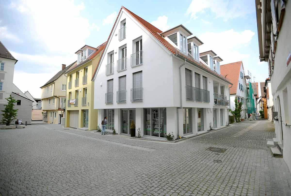 Rosenhaus am Schloss Projektentwicklung Bauunternehmen bendl Günzburg