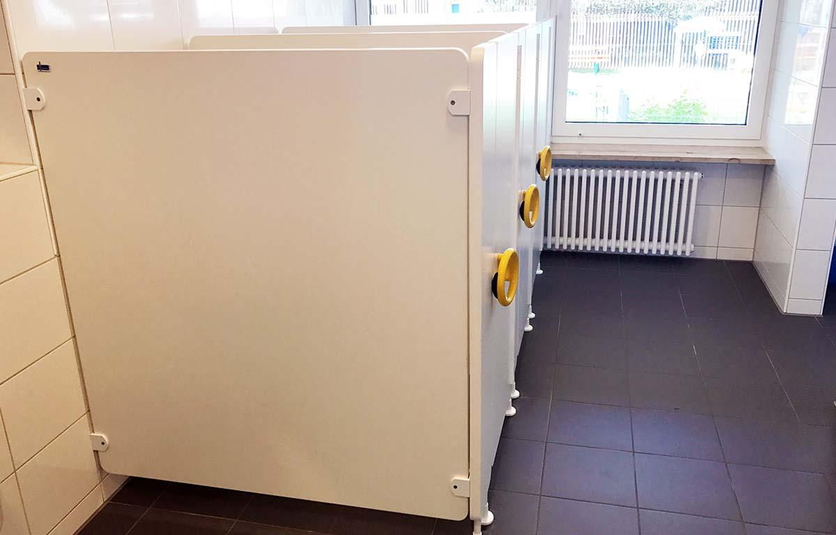 Neue Toiletten in der Kita St.-Martin in Lauingen