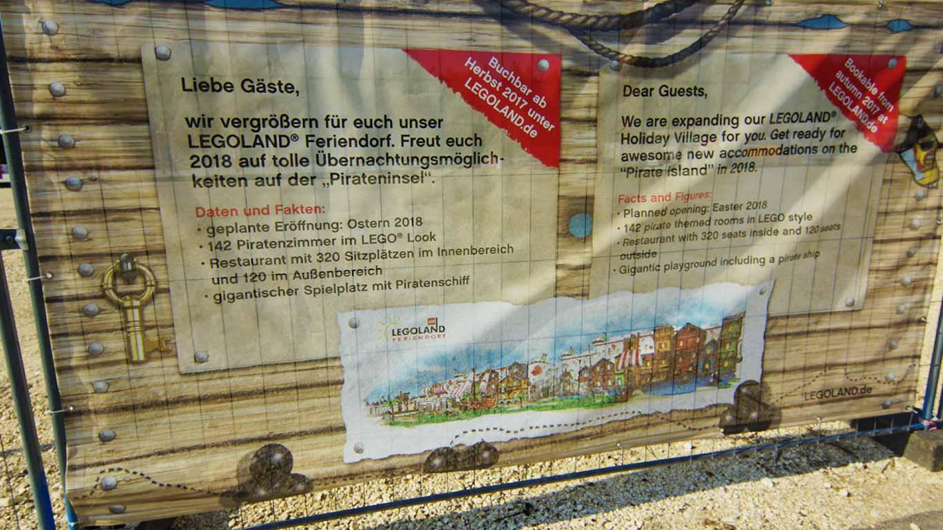 Die Pirateninsel im Günzburger Freizeitpark.