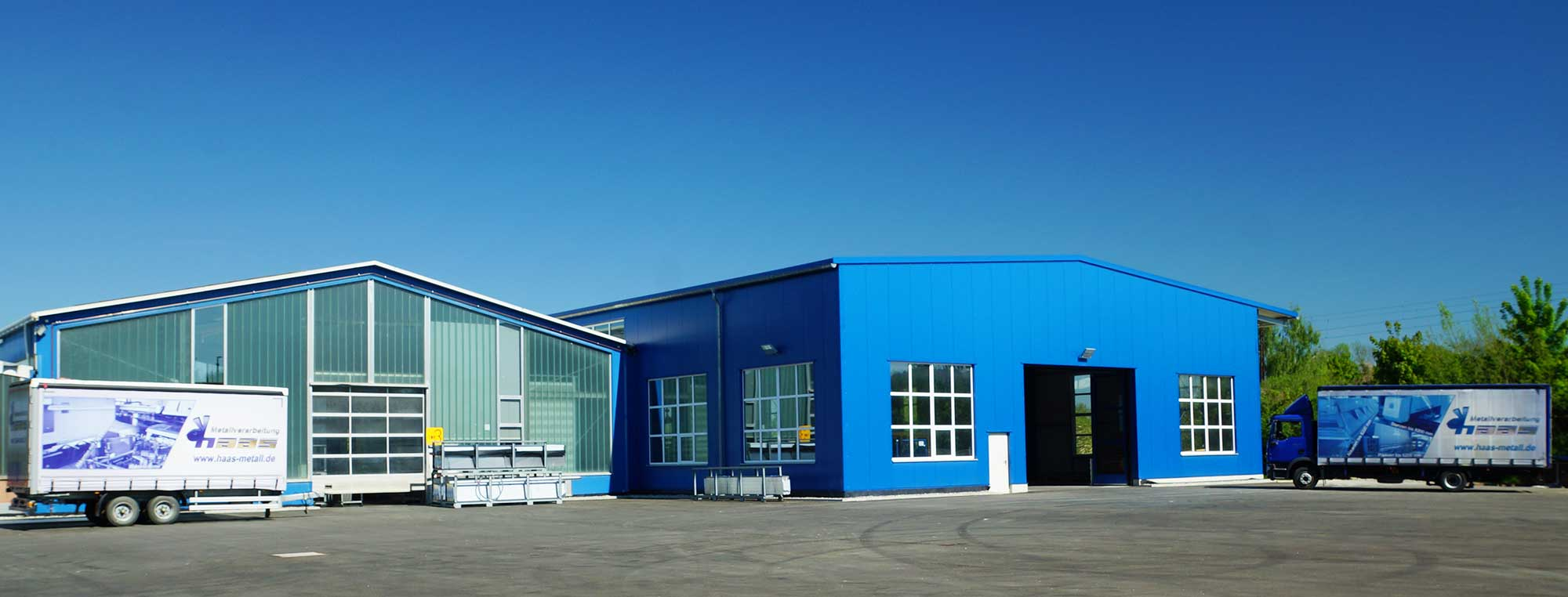 Produktionshalle Firma Haas Offingen