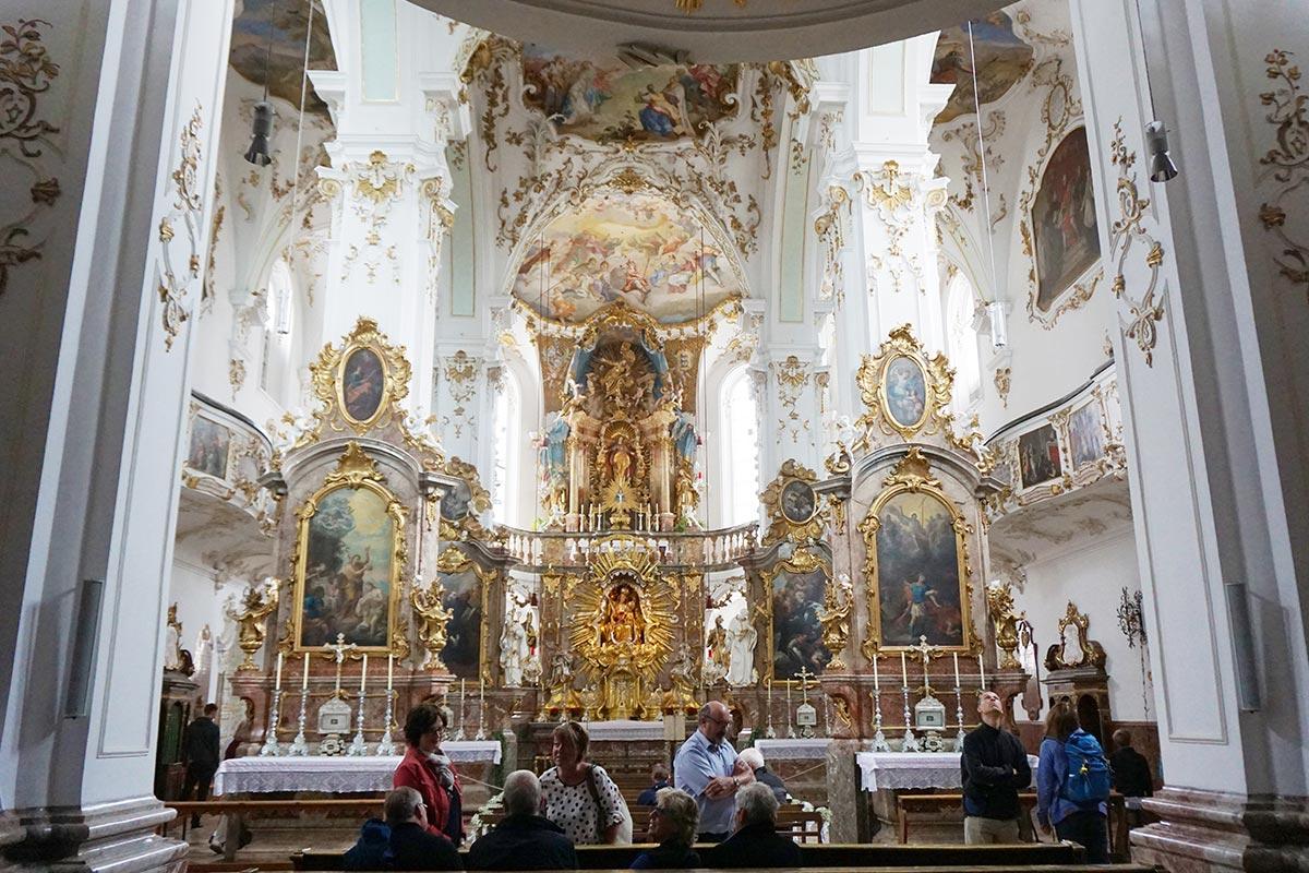 Bauunternehmen bendl in der Kirche des Klosters in Andechs 2017