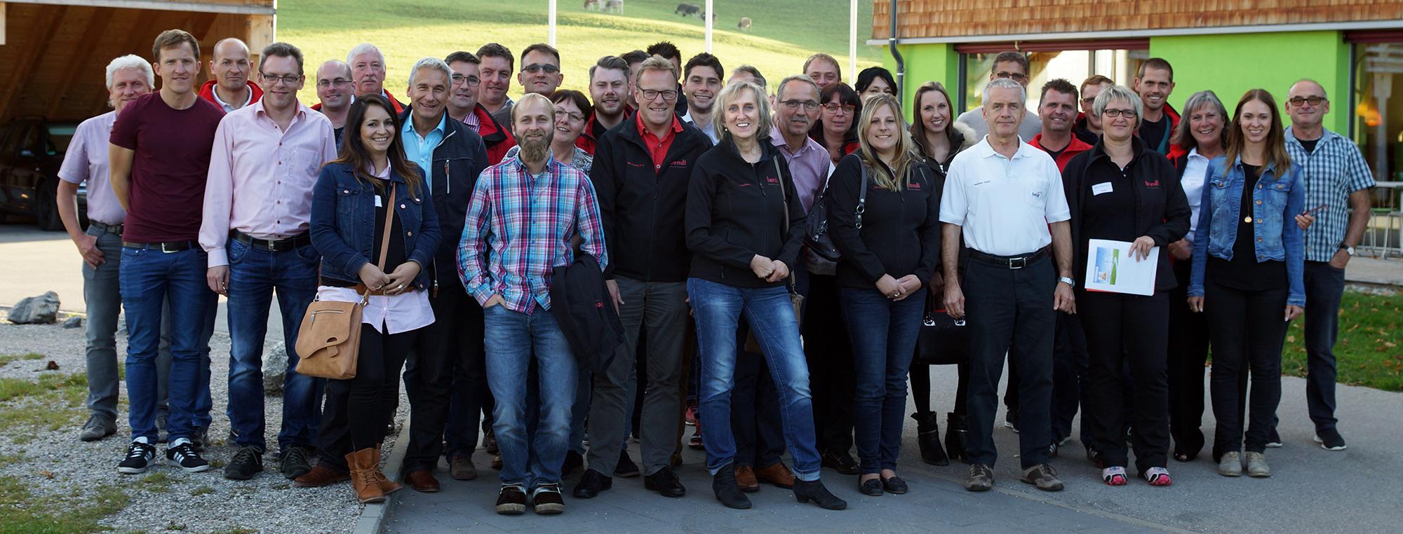 Bauunternehmen bendl aus Günzburg beim Büroseminar 2017 zum Thema
