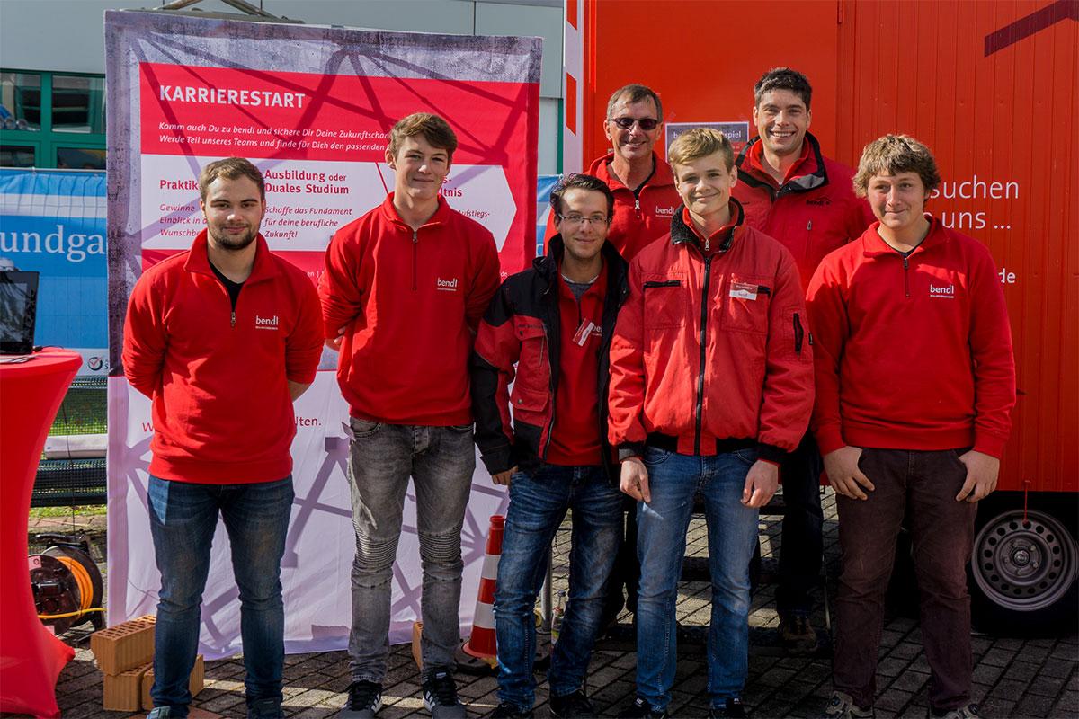 Unser Standpersonal 2017 auf der IBS in Günzburg