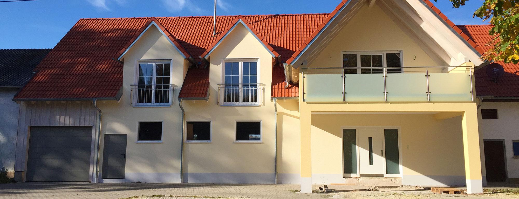 Vom ehemaligen Stall zum modernen und ansehnlichen Wohnhaus