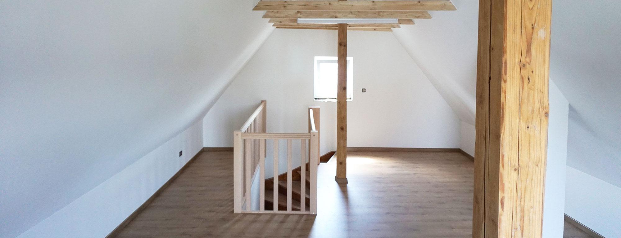 Kompletter Wohnhausumbau vom Keller bis zum Dachboden durch Bauunternehmen bendl aus Günzburg