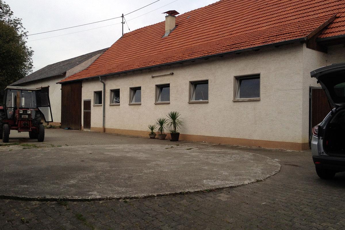 Der Originalbestand des Stalls. Hieraus soll ein Wohnhaus entstehen