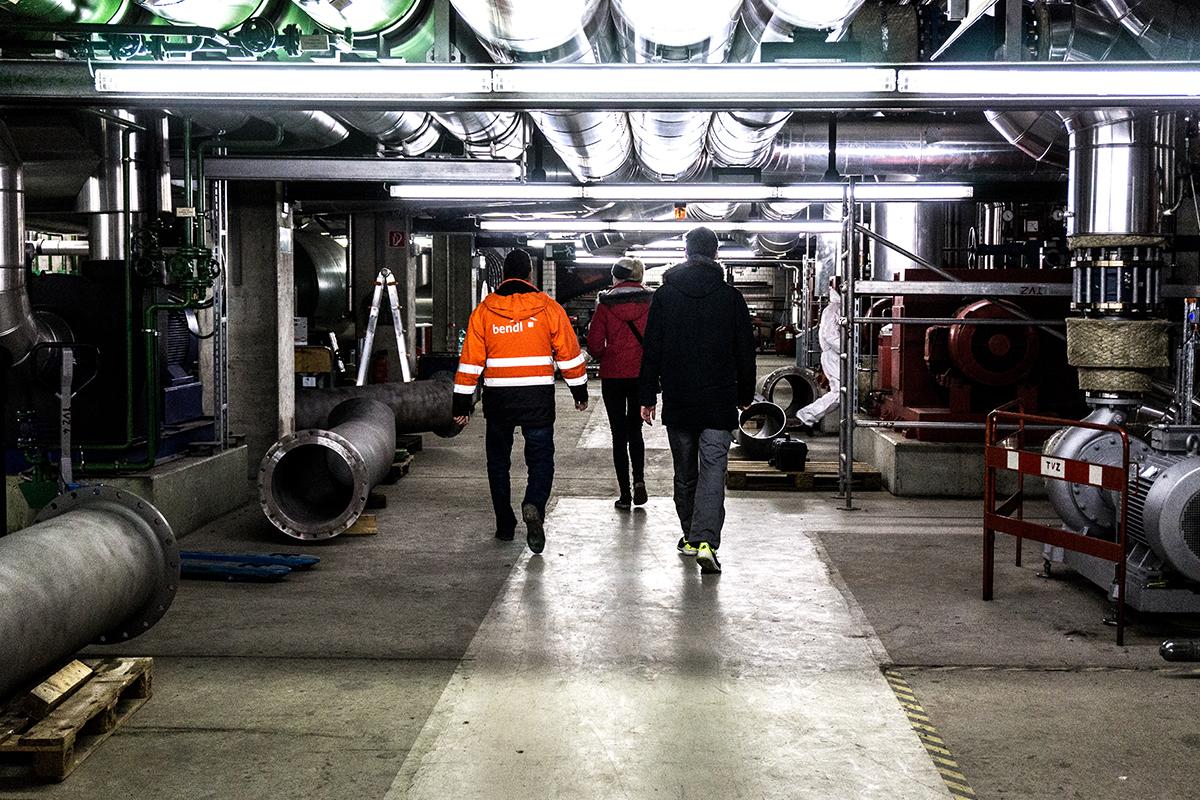 Einsatzort unserer Abteilung Kanalsanierung in Ulm