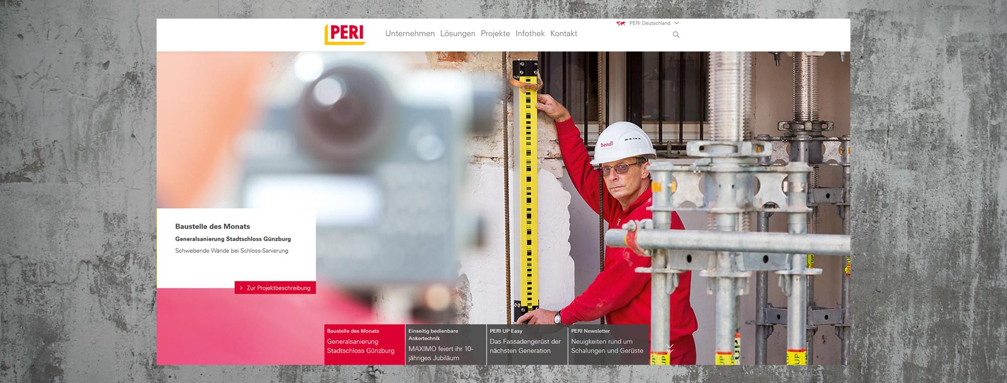 bendl-Baustelle ist Baustelle des Monats Dezember 2017 bei PER