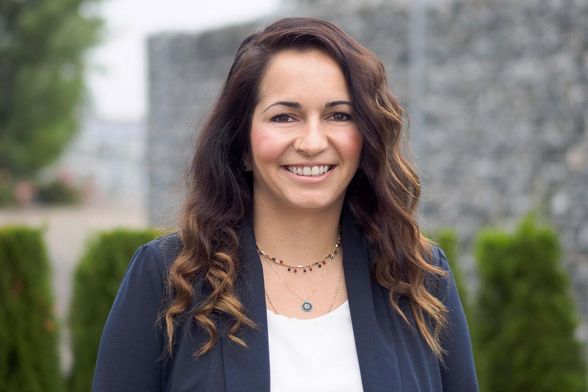 Fatma Karacan, Diplom-Ingenieurin und Technische Beraterin für Technische Gebäudeausrüstung beim Bauunternehmen bendl in Günzburg